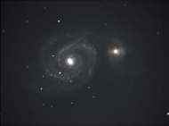 The Whirlpool Galaxy (M51), by John C. Mars